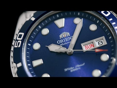 Orient Ray 2 blue ray II best entry automatic dive watch