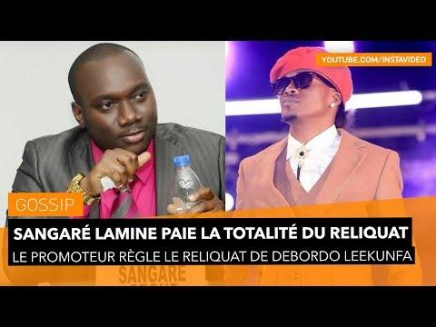 Sangaré Lamine paie la totalité du reliquat de Debordo Leekunfa