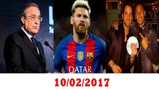 رد ريال مدريد على طلب برشلونة - نيمار يُغضِب متابعيه - رئيس ريال مدريد يتحدث عن دي خيا