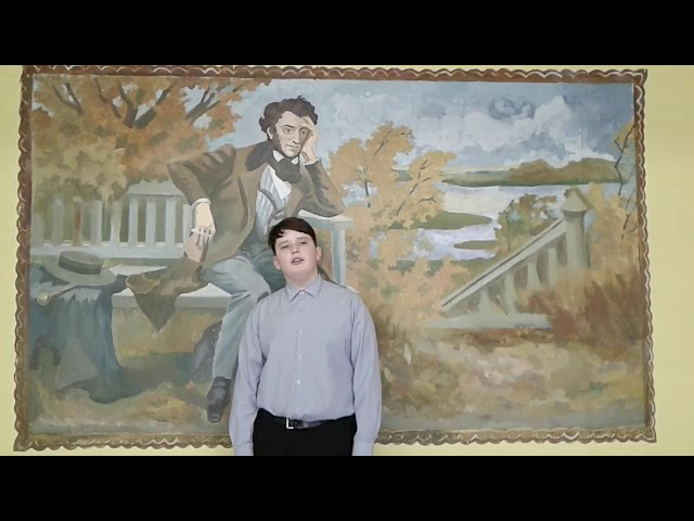 Изображение предпросмотра прочтения – НикитаУсов читает произведение «Апрель» АлександраАндреевичаПрокофьева