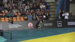 World Cup Skateboarding Moscow 2016 finals (1st round of 3) 20161015