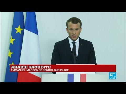 REPLAY - Conférence de presse d'Emmanuel Macron à Dubaï
