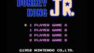 Donkey Kong Jr (NES) Music - Stage 1