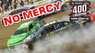 THIS GAME IS BRUTAL!!! -- NASCAR Heat 3 -- Brickyard 400