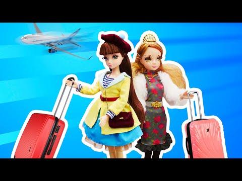 Классные игры в куклы. Модные путешествия с Sonya Rose - Италия или Франция? Новое видео девочкам.