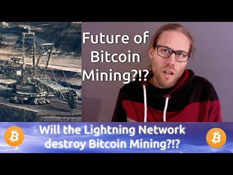 Will The Lightning Network Take Away The Fees From The Bitcoin Miners? Will Miners Die Out?!?
