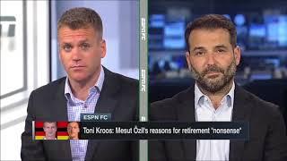 ESPN FC TV Full Show 8/17/2018 - Toni Kroos & Mesut Ozil, Jose Mourinho & Paul Pogba's relationship