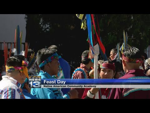 Native American Community Academy celebrates Feast Day