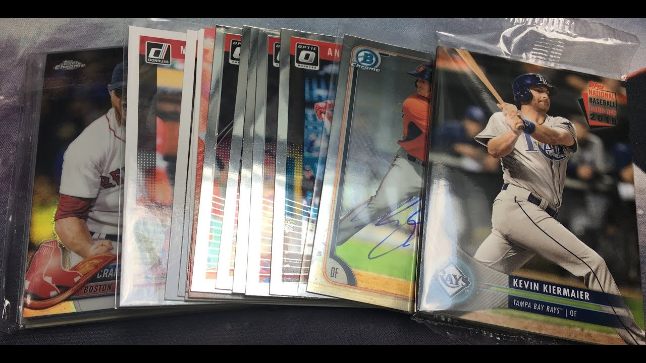 Card Show Pickups National Baseball Card Day 2018 Pack
