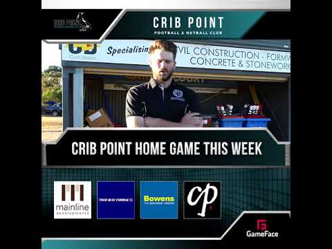 Crib Point FNC - Home Game - Round 01