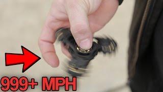 TOP 10 FASTEST FIDGET SPINNERS! (Fastest Fidget Spinner Toys You Won't Believe Exist)