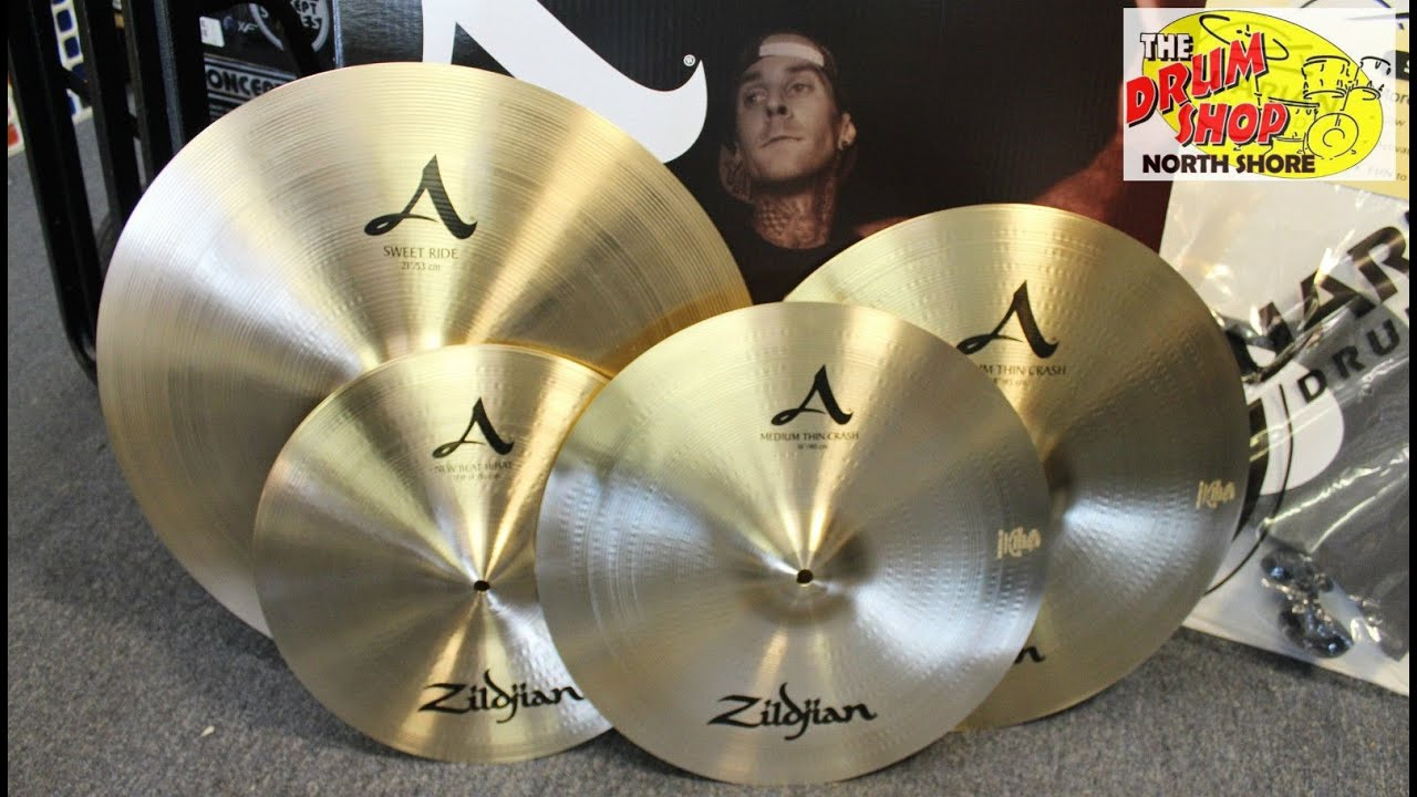 zildjian a series 391 cymbal pack the drum shop north shore youtube. Black Bedroom Furniture Sets. Home Design Ideas