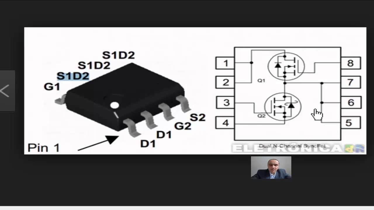 Testando Mosfet 8 Pinos Youtube Dual Gate Mosfets