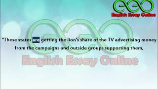 US Presidential Election 2020, November 3rd | English Essay Online | Learn English through Essays