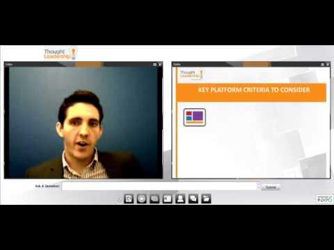 Webcasting 101: How to Select a Webcasting Vendor