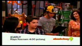 Promo iCarly the movie - I Go To Japan (Nickelodeon di 9) @ Tv9! (Raya Keenam)