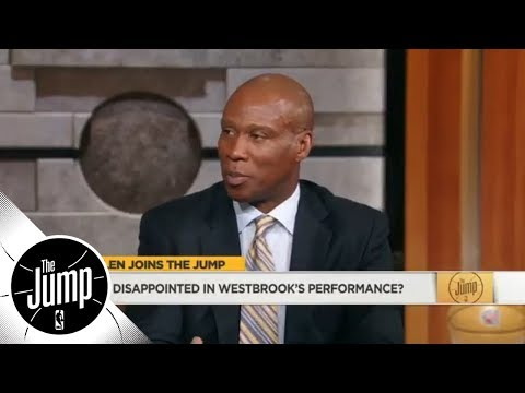 Byron Scott: Donovan Mitchell is outplaying Thunder's Big 3 in NBA playoff series | The Jump | ESPN