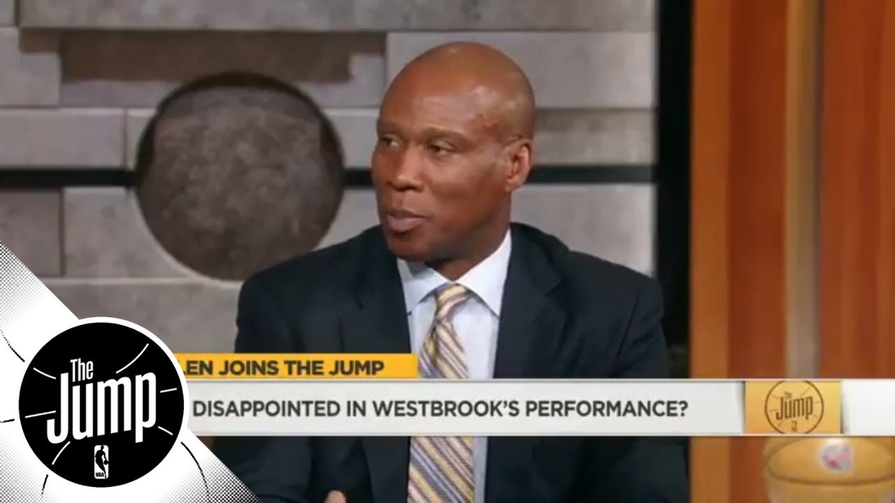 Byron Scott: Donovan Mitchell is outplaying Thunder's Big 3 in NBA playoff series   The Jump   ESPN