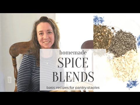 5 Simple Homemade Spice Mixes
