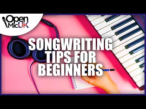 15 AMAZING Songwriting Tips for Beginners
