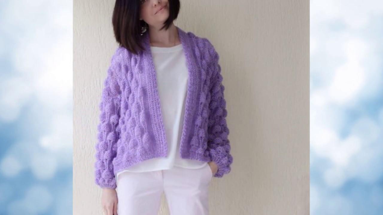 Pletena moda  Кардиган в стиле шанель (Crochet & knitting)