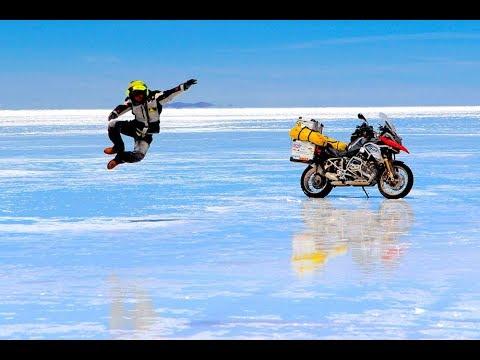 Sudamérica en moto. Salar de Uyuni, desierto de Atacama.