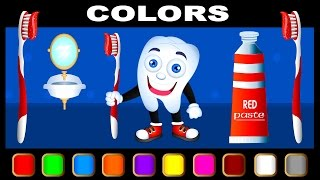 Learn Colors with Candy Balls, Teach Colours, Baby Children Kids Learning Videos by Baby Rhymes