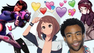 Donald Glover Loves Cute Anime Girls
