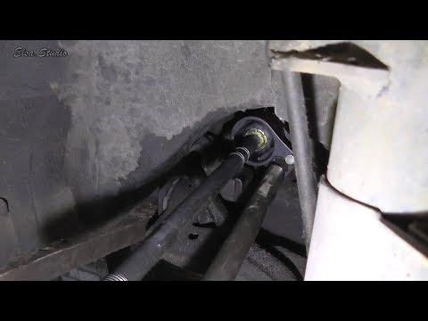 Замена шарнирной рулевой тяги Opel Vectra