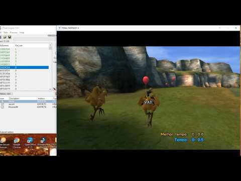 [PC] Final Fantasy X - HD Catcher Chocobo 0.0 Second Very Easy Way - [Cheat Engine]]