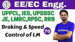 6:00 PM - Electrical Engineering 2018 by Ashish Sir | Speed Control of I.M