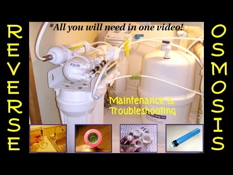REVERSE OSMOSIS(RO) ~ FULL Understanding & Troubleshooting(D