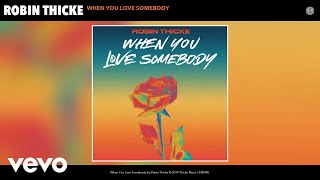 Robin Thicke - When You Love Somebody (Audio)