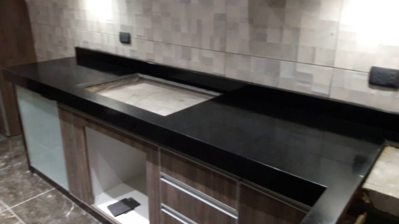 cocina en granito negro absoluto youtube