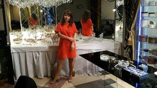 Бутик с осетровой икрой и атрибутами для VIP-клиентов в Москве - очень красивый и стильный