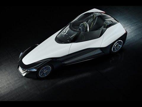 Nissan BladeGlider Wheel Motor Powered Electric Sports Car