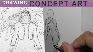 DRAWING CONCEPT ART / EON GIVEAWAY 2