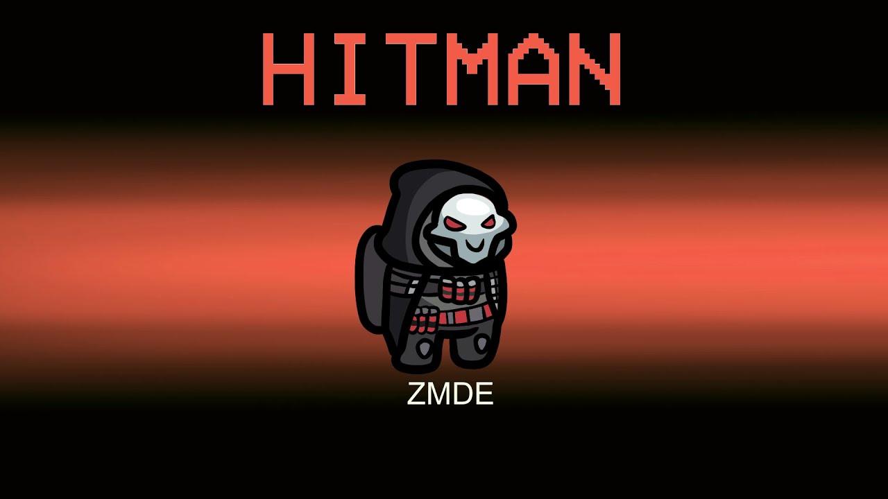 Among Us But HITMAN CREW Role (mods)