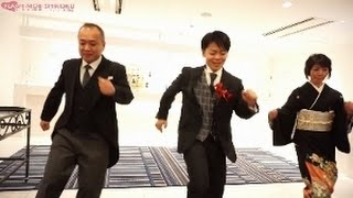 新郎、兄弟、両親から新婦へ。「家族になろう」涙あふれるサプライス!感動のフラッシュモブ~香川県 シェルエメール~ thumbnail