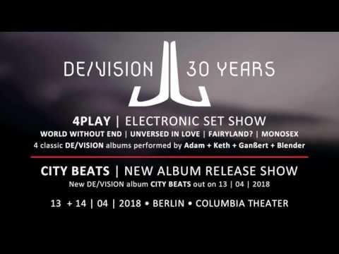 DE/VISION - 30 years 13./14. April 2018 Berlin, Columbia Theater