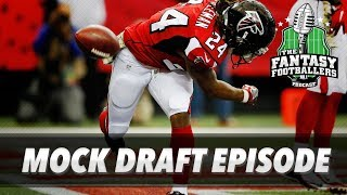 Fantasy Football 2017 - Mock Draft Episode! + Importance of SOS and Tiers - Ep. #382 Free HD Video