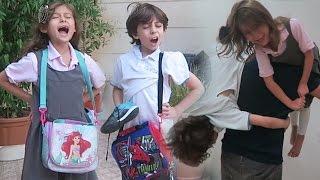 سبب تأخرهم عن المدرسة!؟
