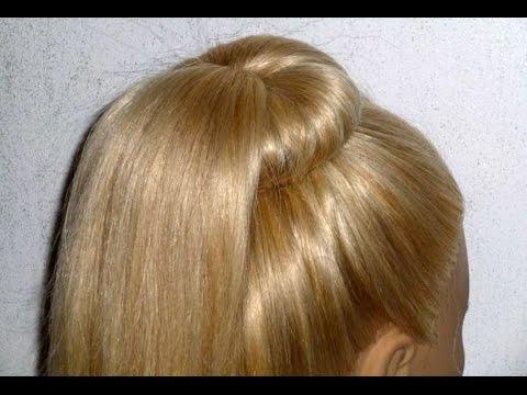 Причёски с хвостом