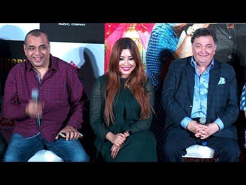 Paresh Rawal & Rishi Kapoor's FUNNY Moments At Patel Ki Punjabi Shaadi Movie Trailer Launch
