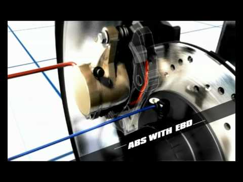 XUV500: Anti-lock Braking System (ABS) with Electronic Brake-force Distribution (EBD)