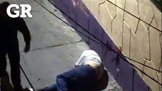 Agreden policías de CDMX en San Juanico