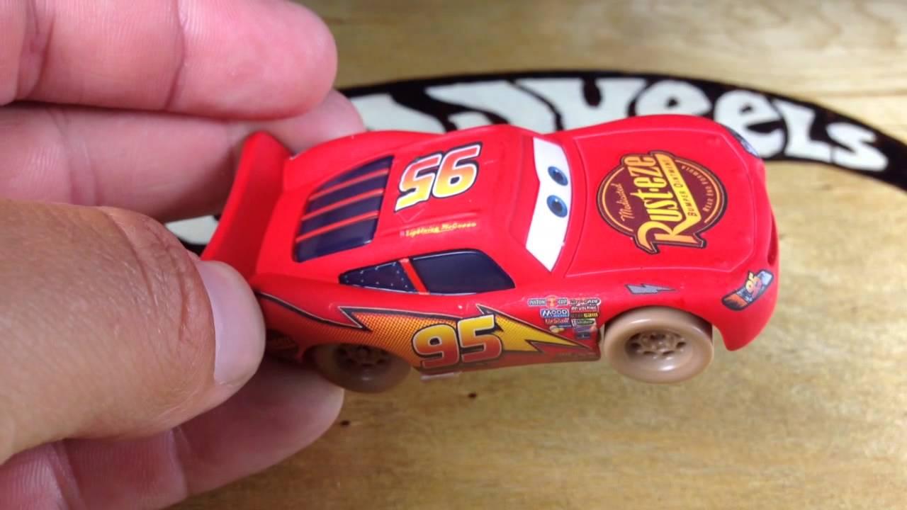 Disney Cars Toys Youtube: Disney Pixar Cars Toys R Us Exclusive Dirt Track Lightning