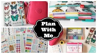 Plan With Me! Weekly Planner Session: April 6-12, 2015