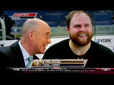 Phil Kessel Breath Interview