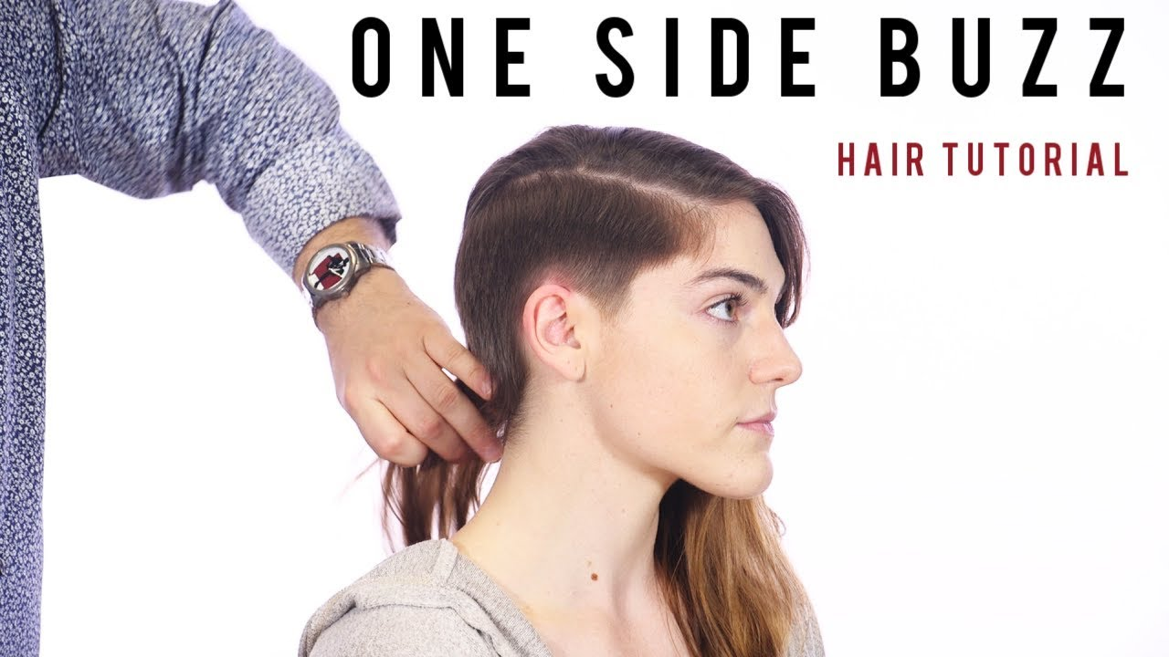 buzz cut on one side - thesalonguy